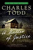 Todd, Charles: A Matter of Justice (Inspector Ian Rutledge Mysteries)