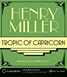 Miller, Henry: Tropic of Capricorn CD