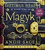 Sage, Angie: Septimus Heap, Book One: Magyk Low Price CD