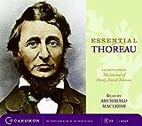 Thoreau, Henry David: Essential Thoreau CD