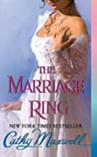 The Marriage Ring by Cathy Maxwell