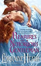 Pleasures of a Notorious Gentleman (Avon) by…