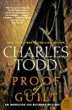 Todd, Charles: Proof of Guilt: An Inspector Ian Rutledge Mystery (Inspector Ian Rutledge Mysteries)