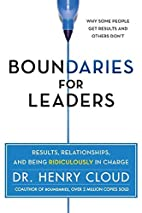 Boundaries for Leaders: Results,…
