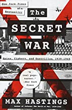 The Secret War: Spies, Ciphers, and…