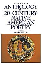 Harper's Anthology of Twentieth Century…