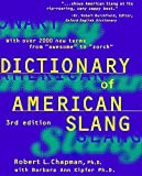 Chapman, Robert L.: Dictionary of American Slang