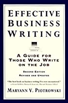 Effective Business Writing :(A Guide For…