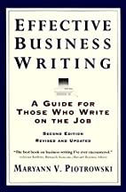 Effective Business Writing: A Guide For…