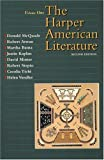 McQuade, Donald: Harper American Literature, Volume I (2nd Edition)