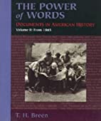 The Power of Words: Documents in American…