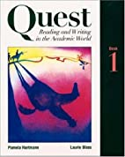 Quest: Reading and Writing in the Academic…