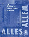 Briggs, Jeanine: Guide To Audio Cassette Program: Alles In Allem: An Intermediate German Course