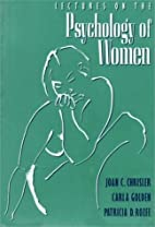 Lectures on the Psychology of Women by Joan…