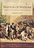 Davidson, James West: Nation of Nations: A Narrative History of the American Republic  To 1877