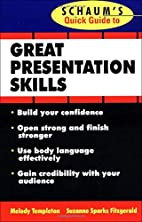 Schaum's Quick Guide to Great Presentations…