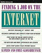 Finding a Job on the Internet by Alfred…