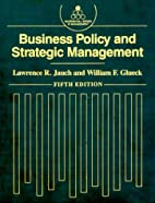 Business Policy and Strategic Management…
