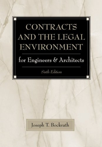 contracts-and-the-legal-environment-for-engineers-and-architects
