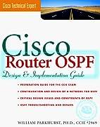 Cisco Router OSPF: Design & Implementaton…