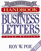 The McGraw-Hill Handbook of Business Letters…