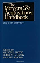 The Mergers and Acquisitions Handbook by…