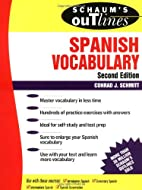 Schaum's Outline of Spanish Vocabulary by…