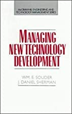 Managing New Technology Development by…