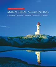 Managerial Accounting, Seventh Canadian…