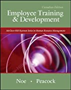Employee Training & Development Canadian…
