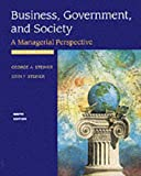 Steiner, George: Business, Government and Society
