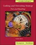 Thompson: Crafting and Executing Strategy - Text and Readings
