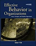 Cohen: Effective Behavior in Organizations with Powerweb