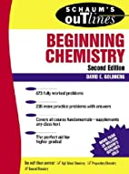 Theory and Problems of Beginning Chemistry…