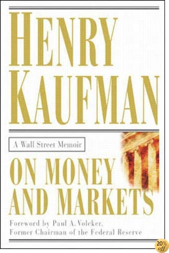 TOn Money and Markets: A Wall Street Memoir