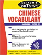 Schaum's Outline of Chinese Vocabulary by…