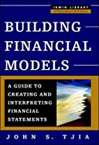 Building Financial Models (McGraw-Hill…