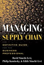 Managing the Supply Chain : The Definitive…