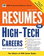 Resumes for high tech careers : with sample…