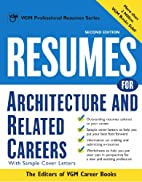 Resumes for Architecture and Related Careers…