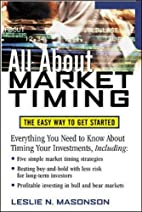 All About Market Timing by Les Masonson