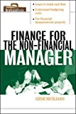 Siciliano, Gene: Finance for Non-Financial Managers