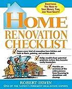 Home Renovation Checklist: Everything You…