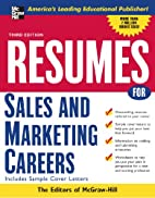 Resumes for Sales and Marketing Careers by…