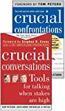 Patterson, Kerry: Crucial Conversations and Crucial Confrontations Value Pack