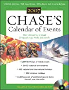 Chase's Calendar of Events 2007 w/CD ROM…