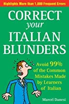 Correct Your Italian Blunders: How to avoid…
