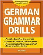 German Grammar Drills (Drills Series) by Ed…