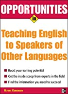 Opportunities in Teaching English to…