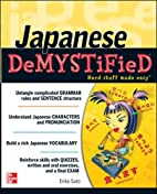 Japanese Demystified: A Self-Teaching Guide…